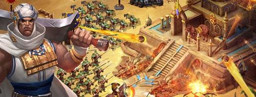 ملوك الصحراء - إستمرار الاسطورة من أفضل الألعاب الاستراتجية في المنطقة !