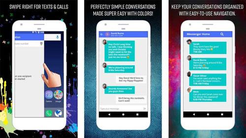 تطبيق Messenger Home لانشر المراسلة المميزة