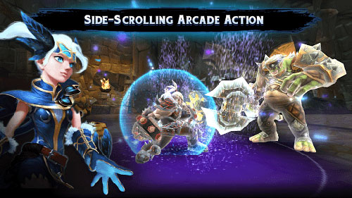 لعبة ChronoBlade لتعيش عالما مليئا بالخيال والقتال