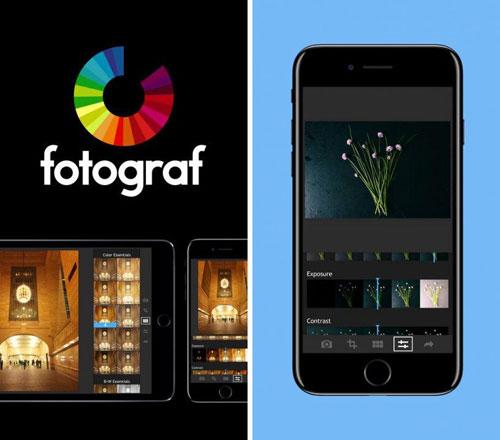 تطبيق Fotograf لتحرير صورك باحترافية