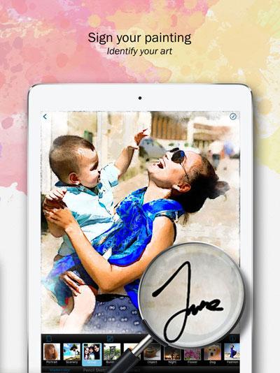 تطبيق Paintkeep Painting لتحويل صورك لتحف فنية