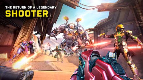 لعبة Shadowgun Legends معارك الخيال العلمي المميزة
