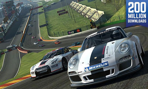 لعبة Real Racing 3 سباق سيارات بجودة عالية