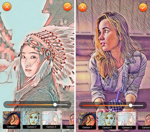 تطبيق Comic FX لتحويل صورك إلى كرتون
