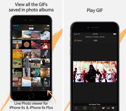 تطبيق Giflay لإدارة الصور المتحركة في جهازك