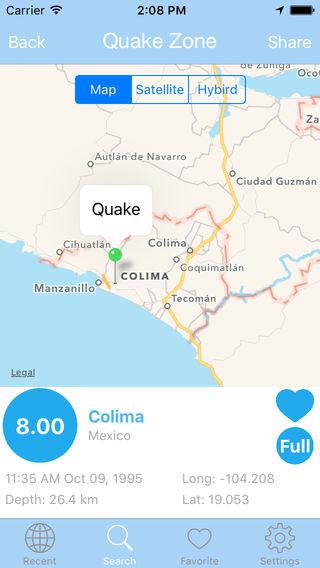 تطبيق Earthquake PRO لمتابعة الزلازل حول العالم