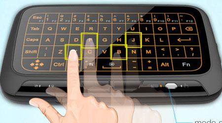 Photo of احصل على لوحة المفاتيح H18+ اللاسلكية مع ميزة اللمس !