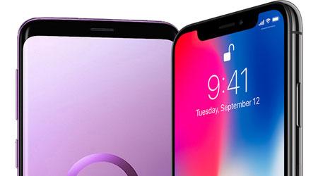 مقارنة الشاشة - الأيفون X ضد جالاكسي S9 - أيهما أفضل ؟