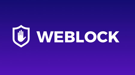 تطبيق Weblock لحظر الإعلانات وتسريع التصفح - للأيفون والأندرويد