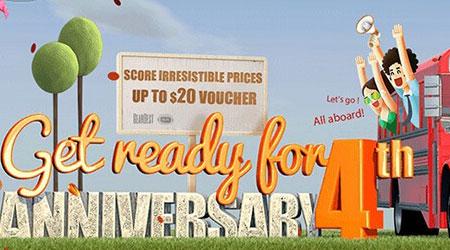 موقع Gearbest للتسوق ينظم أكبر حفل في هذا العام - تخفيضات وهدايا كثيرة