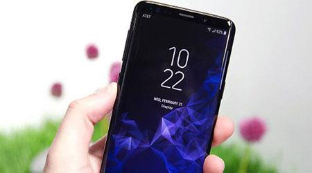 بعض هواتف سامسونج جالكسي إس 9 تعاني من مشكلة في الشاشة!