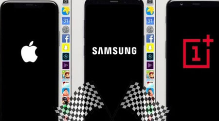 Photo of فيديو – اختبار السرعة بين جالاكسي S9+ والأيفون X و OnePlus 5T ، من الأسرع ؟