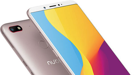 الهواتف تتجه لتصبح شاشات دون حواف - هاتف Nubia V18 أحدثها !