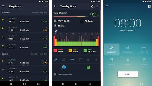 تطبيق Runtastic Sleep Better