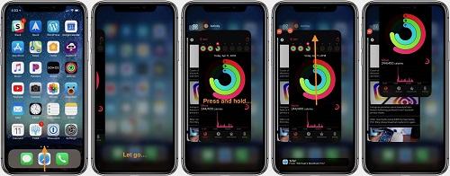 نصائح وحيل لإغلاق التطبيقات على iPhone X