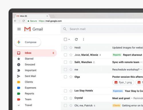 تصميم Gmail الجديد