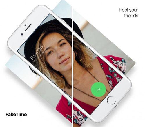 تطبيق FakeTime لإجراء مكالمات فيس تايم وهمية