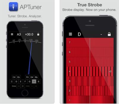 تطبيق APTuner أداة احترافية لتحليل الصوت