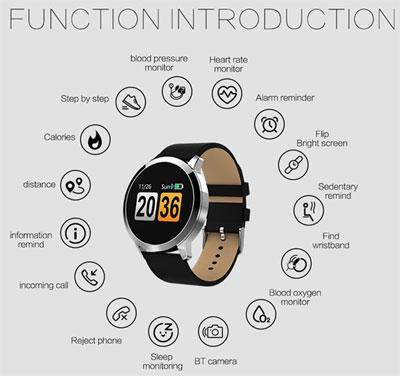 الساعة الذكية Newwear Q8