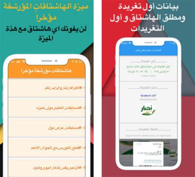 تطبيق من أول من غرد؟ لمعرفة أنشط الهاشتاقات في السعودية ومن قام بأطلاقها