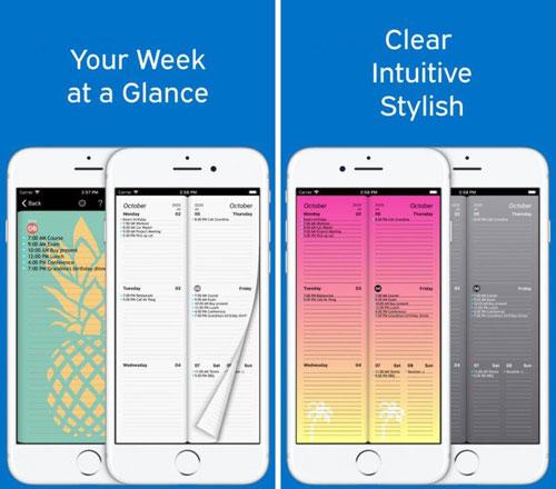 تطبيق Week Agenda Ultimate لتنظيم جدول أعمالك