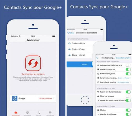 تطبيق Sync your Contacts for Google+ لحفظ أرقام الهواتف