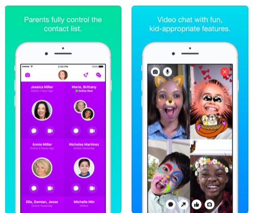 تطبيق Messenger Kids - ماسنجر مخصص للأطفال
