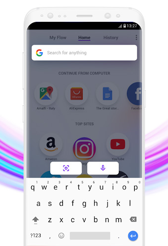 Opera Touch - متصفح جديد من أوبرا للاستخدام بيد واحدة!