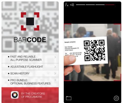تطبيق Barcode