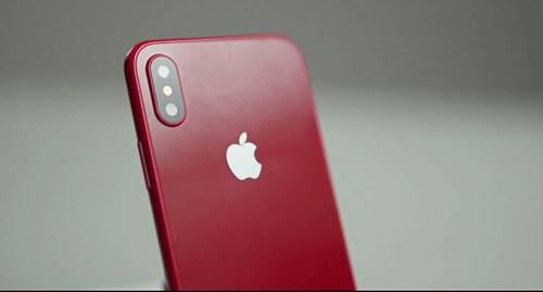 هكذا سيبدو آيفون X باللون الأحمر!