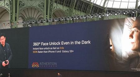 أيهما أسرع Face Unlock في هواوي P20 أم Face ID في آيفون X ؟