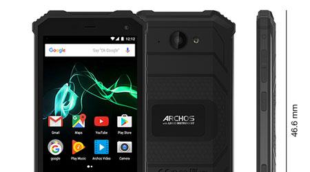 شركة Archos تعلن عن هاتف Saphir 50X المقاوم والصلب !