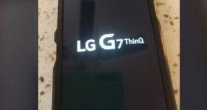 صور مسربة - هذا هو هاتف LG G7 ThinQ القادم قريبا !