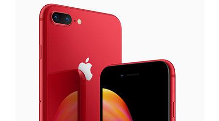 Photo of آبل تكشف عن النسخة الحمراء من هواتف آيفون 8 و آيفون 8 بلس !