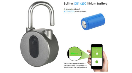 احصل على BT Smart Keyless Lock - القفل الذكي بعرض محدود!