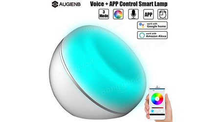 Photo of عرض خاص – المصباح الذكي متعدد الاستخدامات AUGIENB Smart LED Lamp !