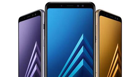 رصد هاتفي سامسونج جلاكسي A6 وجلاكسي A6 بلس من خلال تجارب الأداء