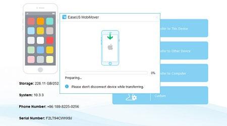 برنامج EaseUS MobiMover 3.0 لنقل الملفات الى الأيفون والأيباد - مجاني بالكامل !