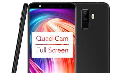 عرض خاص ولفترة محدودة الهاتف المميز LEAGOO M9 Quad-Cam بأربع كاميرات
