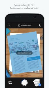 تطبيق Adobe Scan ماسح ضوئي للصور