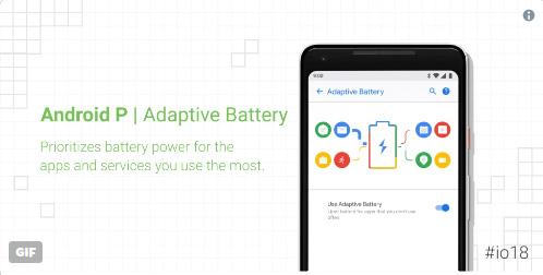 ميزة Adaptive battery