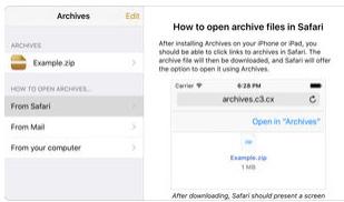 تطبيق Archives - لفتح الملفات المضغوطة