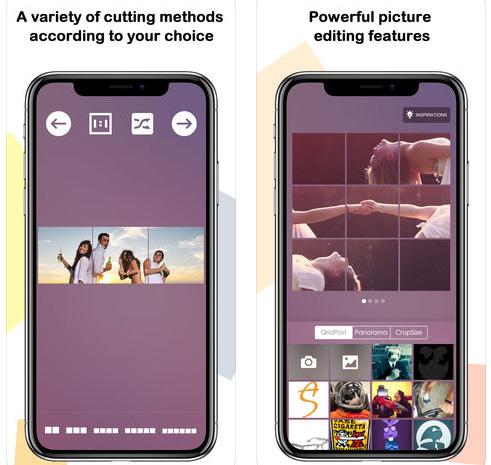 تطبيق Grid Post Maker - لإضافة لمسة جمالية على بروفايل انستاغرام!