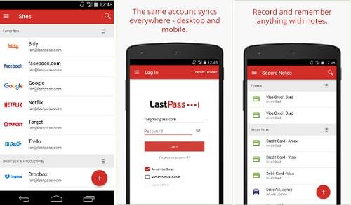 تطبيق LastPass Password Manager لحفظ كلمات المرور