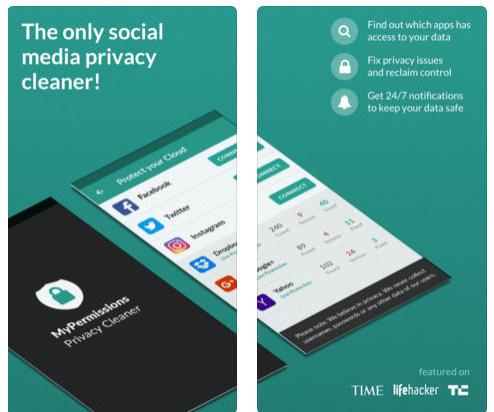 تطبيق MyPermissions - للحفاظ على خصوصيتك و إدارة صلاحيات تطبيقات التواصل الاجتماعي!