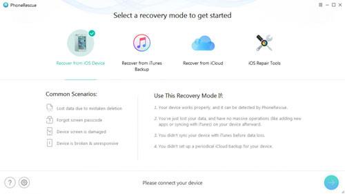 برنامج PhoneRescue - لاسترجاع الملفات المفقودة من الآيفون و الأندرويد!
