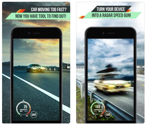تطبيق Speed Radar Gun Pro : حوّل الآيفون إلى ردار لمعرفة سرعة السيارات!