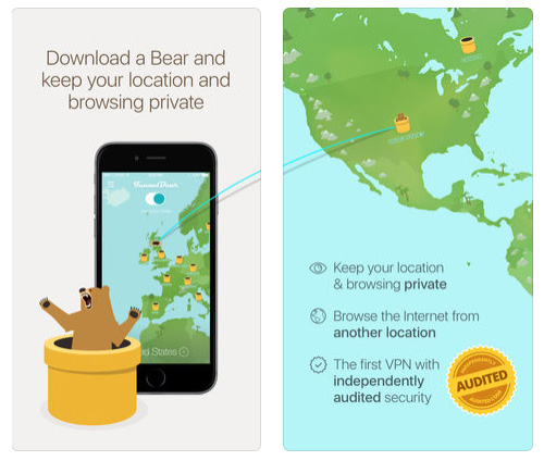 تطبيق TunnelBear VPN