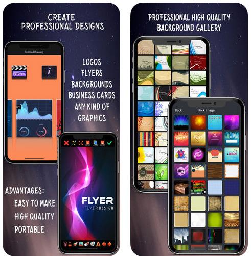 تطبيق Create Flyers & Logos لتصميم الشعارات و البطاقات بسهولة و احترافية - عرض خاص!