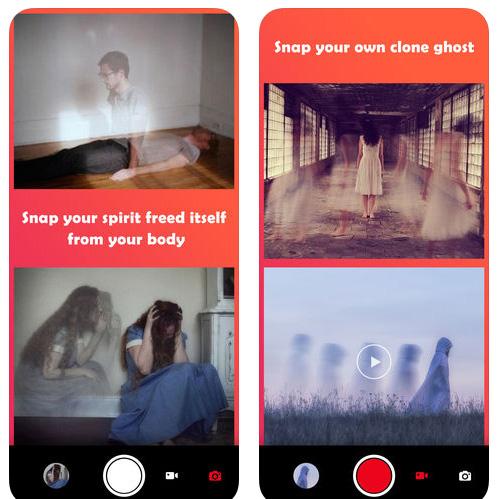 تطبيق Ghost Lens - محرر صور طريف و مخيف!